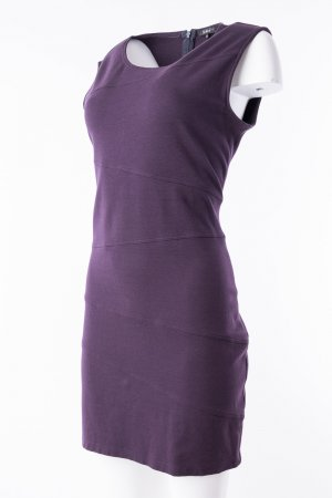 Jones Stretch Dress dark violet viscose