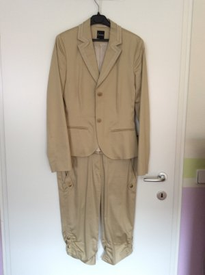 Jones Ladies' Suit camel cotton