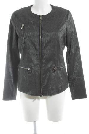 Jones Blouson dark grey flecked elegant