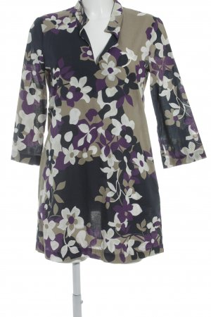 Jones Robe chemisier motif floral style décontracté