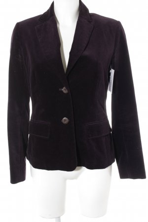 Jones Boyfriend Blazer brown violet business style