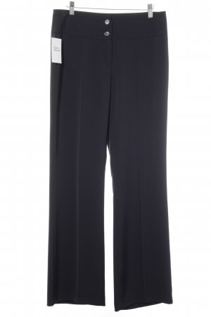 Jones Bundfaltenhose dunkelblau Business-Look