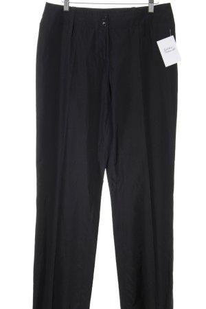 Jones Pantalone a pieghe nero elegante
