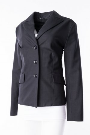 JONES - Business-Blazer mit Schimmeroptik Schwarz