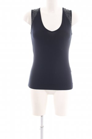 Jones Bustier Top blue casual look