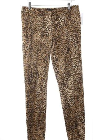 Jones Pantalone chino motivo animale impronta animale