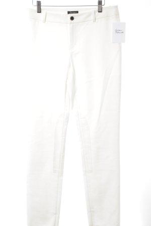 Jones Pantalone chino bianco stile semplice