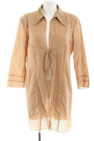 Jones Hemdblusenkleid nude Streifenmuster Casual-Look