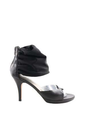 Jones High Heel Sandaletten schwarz Casual Look
