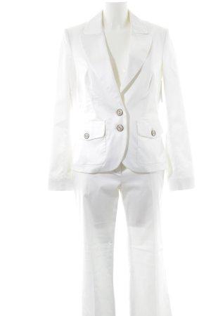 Jones Trouser Suit white elegant