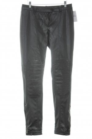 Jones Jeggings schwarz Biker-Look