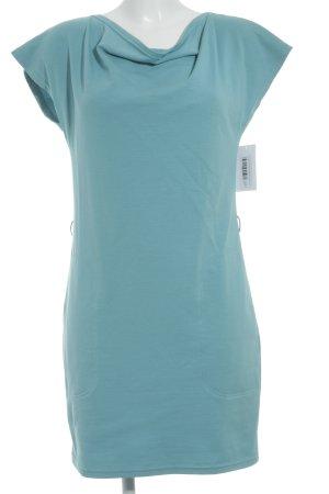 Jones Vestido de tela de jersey azul claro look casual