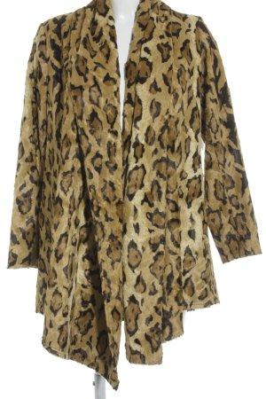 Jones Fake Fur Jacket animal pattern animal print