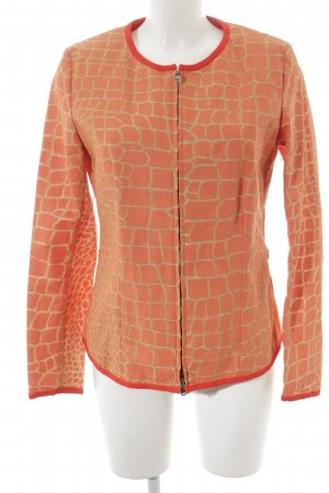 Jones Kurzjacke hellorange-orange Animalmuster Elegant