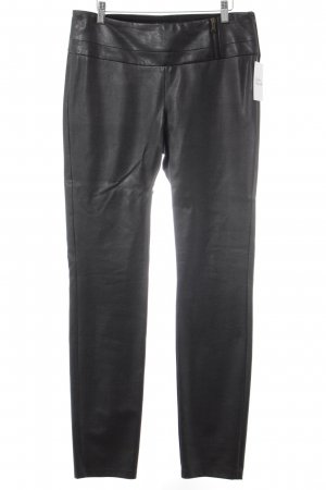 Jones Lederhose schwarz Biker-Look