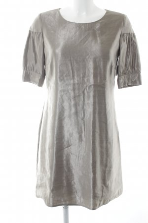 Jones Mini vestido color plata elegante