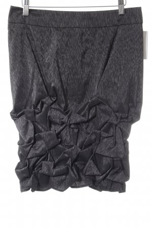 Jones Minigonna grigio scuro puntinato elegante