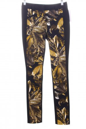 Jones Drainpipe Trousers floral pattern elegant
