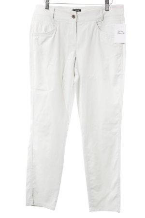 Jones Pantalone a sigaretta grigio chiaro stile casual