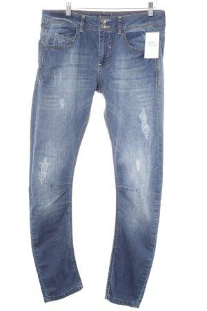 Jones Slim Jeans blau Casual-Look