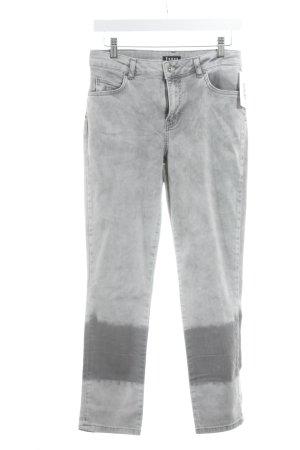 Jones Slim Jeans grau-hellgrau Casual-Look