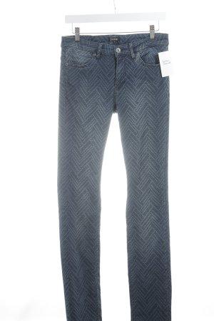 Jones Slim Jeans kornblumenblau-stahlblau Casual-Look