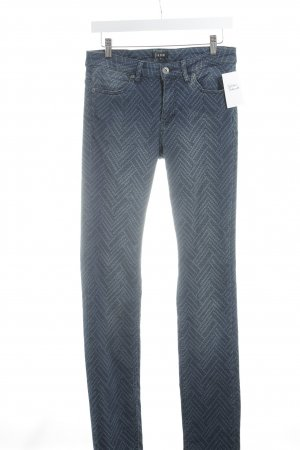 Jones Slim Jeans kornblumenblau-stahlblau Casual-Look