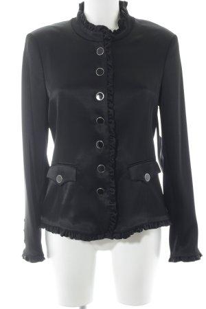 Jones Blazer de esmoquin negro elegante