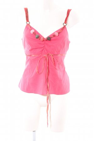 Jones Spaghetti Strap Top pink casual look