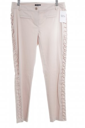 Jones Pantalone jersey rosa antico stile casual