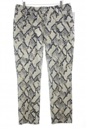 Jones Pantalone jersey motivo animale elegante
