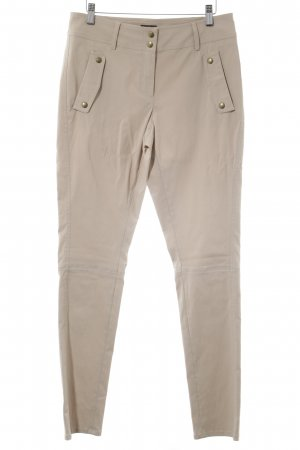 Jones Stoffhose beige Casual-Look