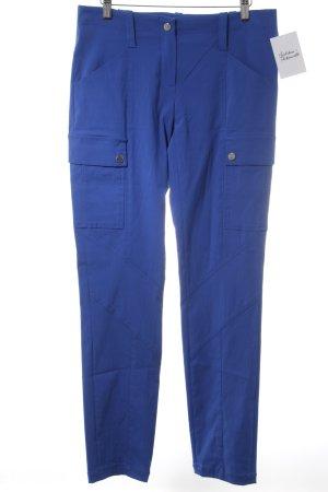 Jones Stoffhose blau Casual-Look