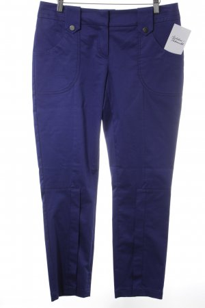 Jones Stoffhose blauviolett Casual-Look