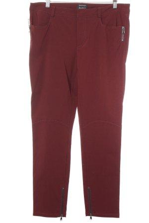 Jones Pantalone jersey bordeaux stile casual