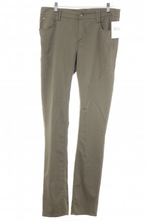 Jones Pantalone jersey grigio-verde stile casual