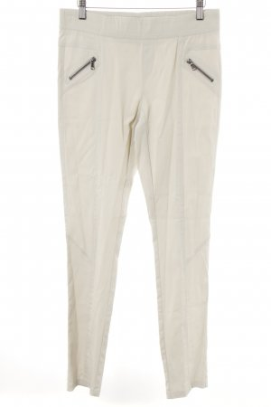 Jones Stoffhose hellbeige Casual-Look