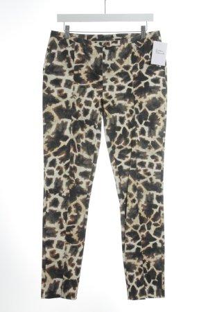 Jones Pantalone jersey Stampa leopardata stile casual