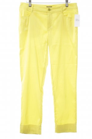 Jones Pantalone jersey giallo neon stile casual