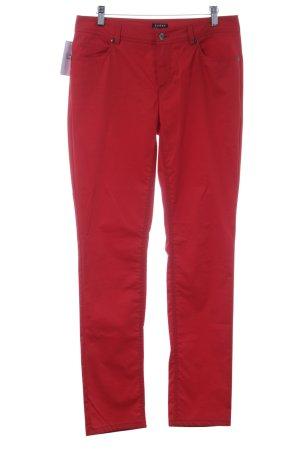 Jones Pantalone jersey rosso stile casual