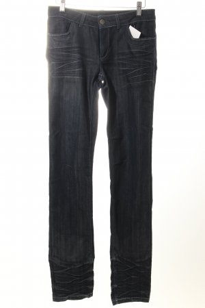 Jones Straight-Leg Jeans dunkelblau Casual-Look