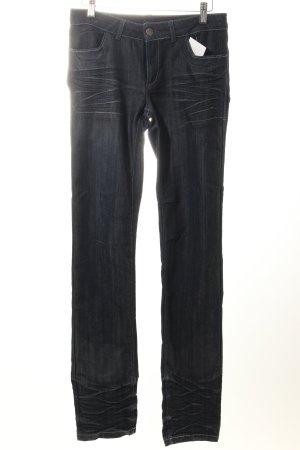 Jones Jeans a gamba dritta blu scuro stile casual