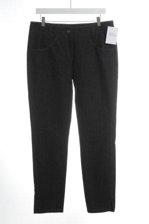 Jones Jeans coupe-droite bleu foncé style décontracté