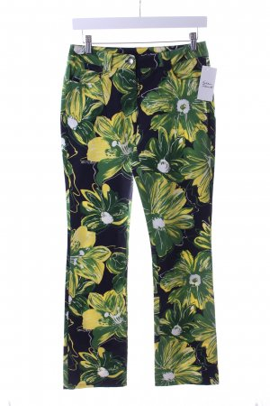 Jones Stretchhose florales Muster extravaganter Stil