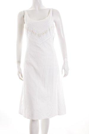 Jones Trägerkleid weiß Romantik-Look