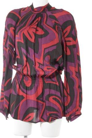 Jones Tunikabluse abstraktes Muster Casual-Look