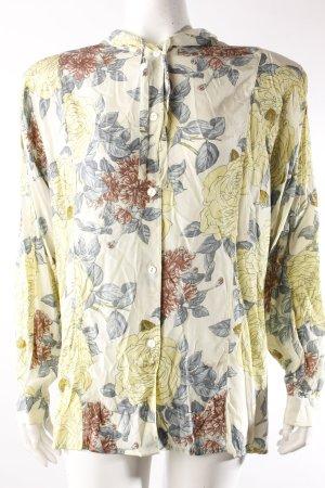 Jones Vintage-Bluse blassgrün-gemustert