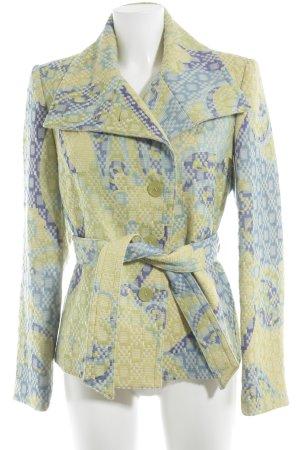 Jones Veste en laine Mélange de motifs style décontracté