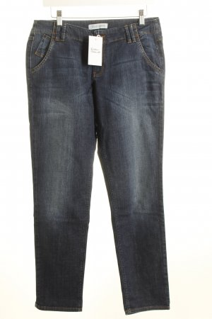 Joop! 7/8 Jeans dunkelblau Washed-Optik