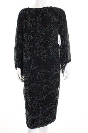 Joop! Abendkleid schwarz extravaganter Stil